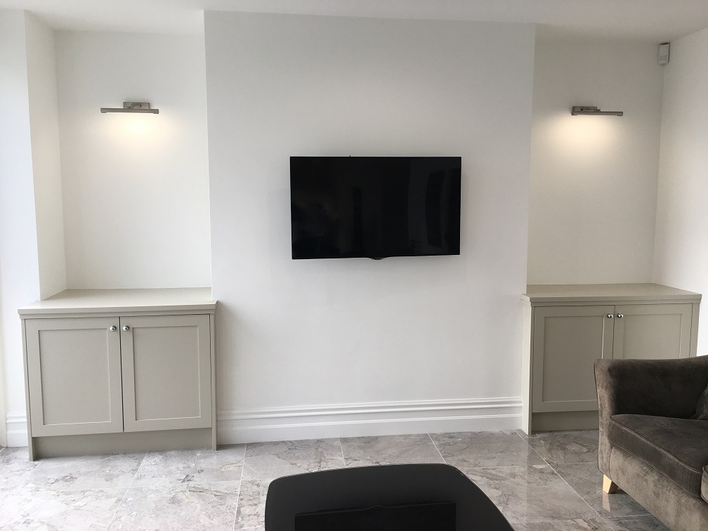 Living room painters and decorators Impressions Painting and Decorating