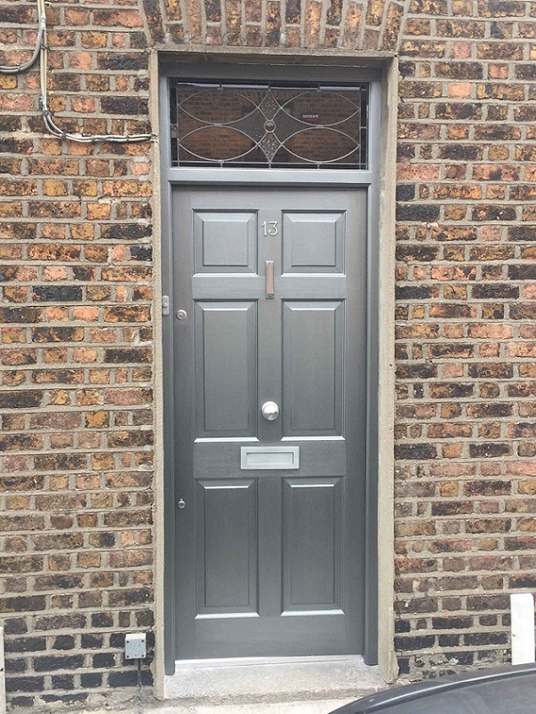 New door painted by South Dublin painters Impressions Painting and Decorating