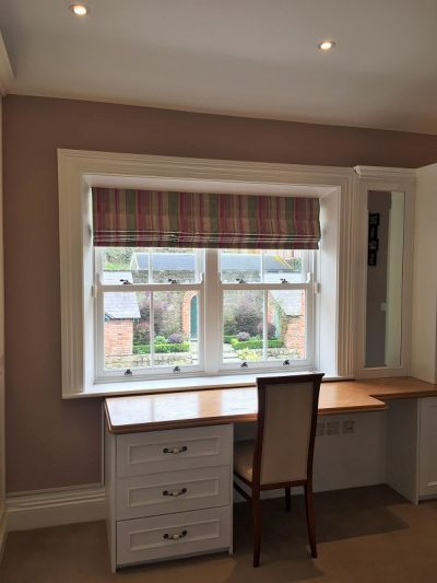 Painted bedroom by experienced painters Impressions Painters and Decorators in South Dublin