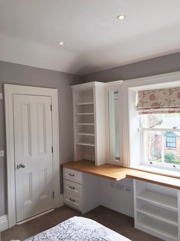 Painted bedroom by experiened bedroom painters Impressions Painting and Decorating in South Dublin