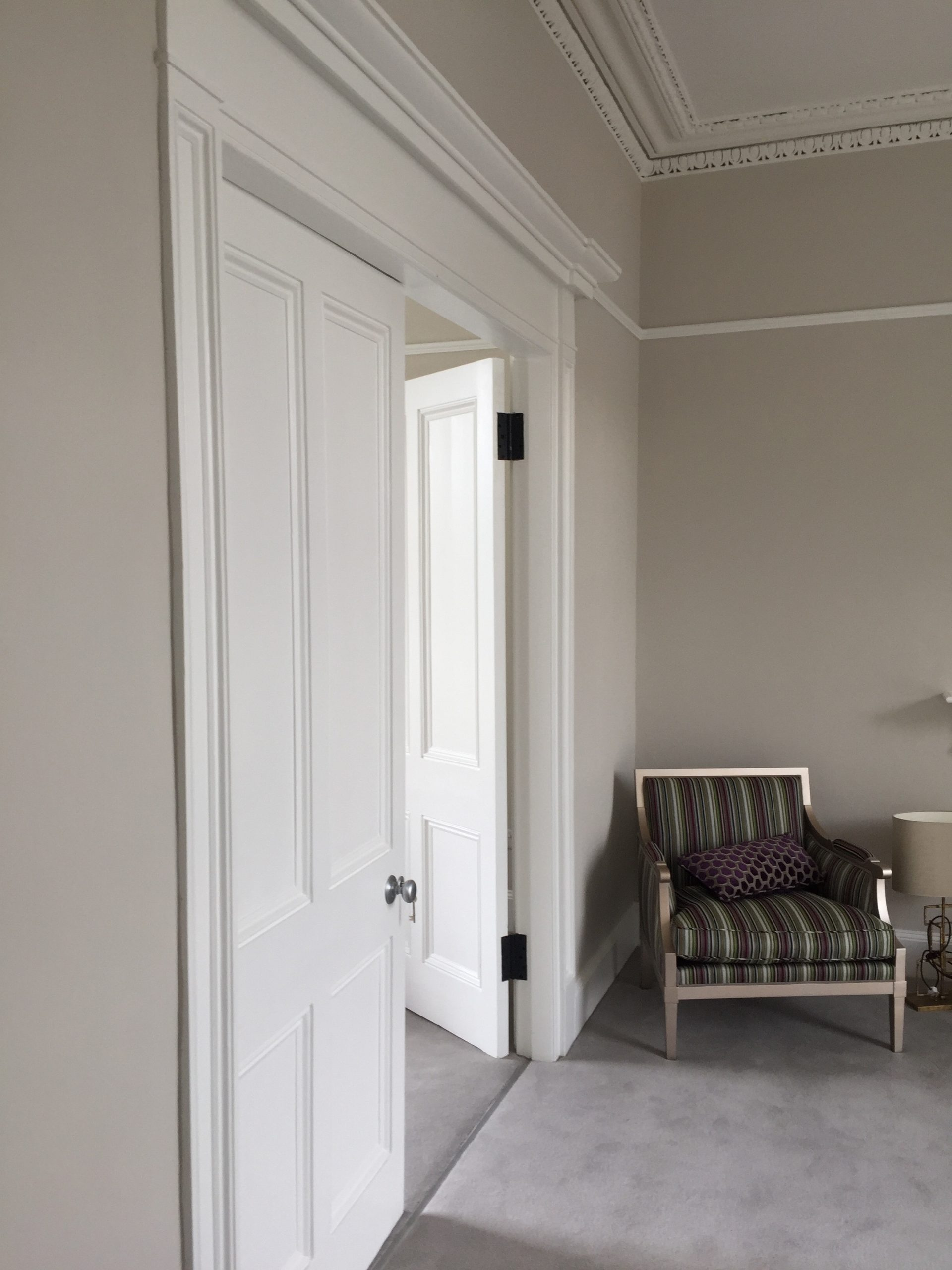 Period house bedroom painters and decorators in Ranelagh