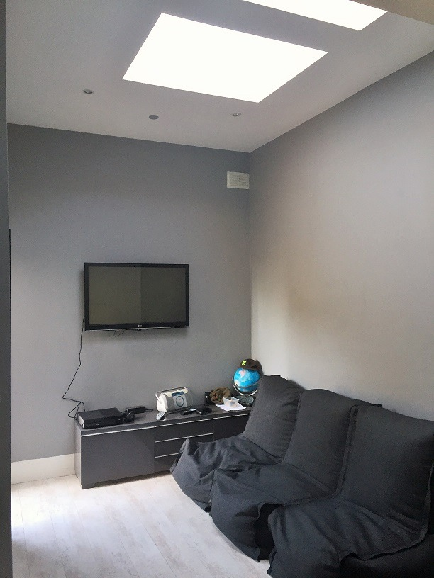 Playroom painted and decorated in Dun Laoghaire by Impressions Painters and Decorators